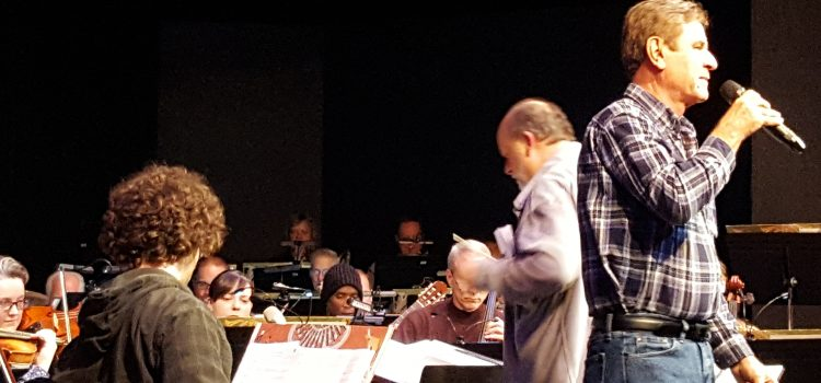 Behind the Scenes at Sinatra Rehearsal
